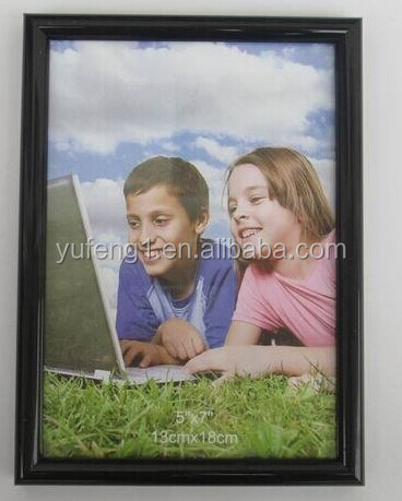 Wholesale funny cheap PVC plastic colored school children gift photo picture frame