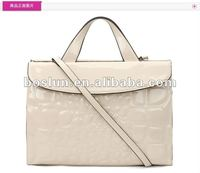 latest designer leather lady business briefcase