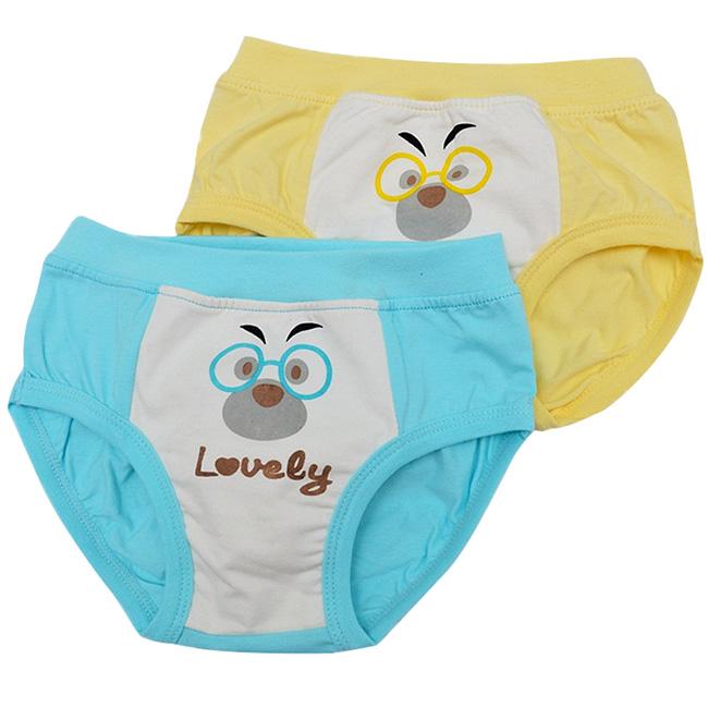 Best Sale 2pcs lot Kids Underwear Calcinha Infantil Cartoon Boys Briefs Shorts Comfy Cotton Underpants Children