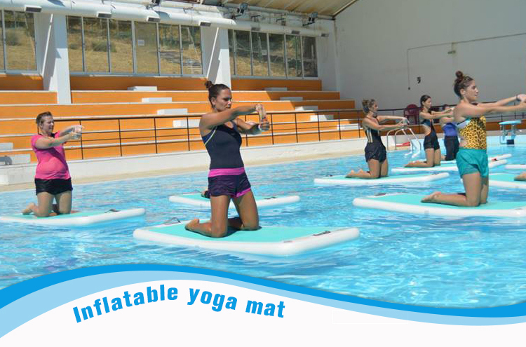 Inflatable Water Yoga Mats Sports Mat
