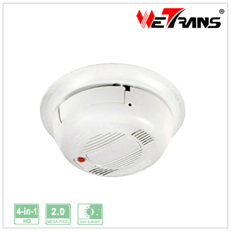 2.0MP Sony Smoke Detector Plastic 1080P Spy Hidden Camera TR-X20DH811