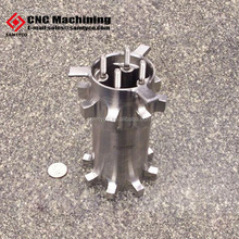 cnc milling part large automobile or electronic tight parts nickel anodes