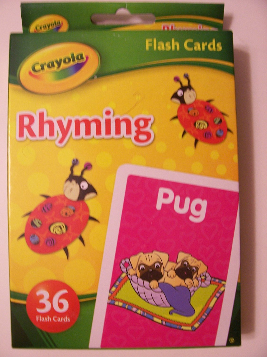 Crayola Educational Flash Cards ~ Rhyming (36 Flash Cards; 2012)