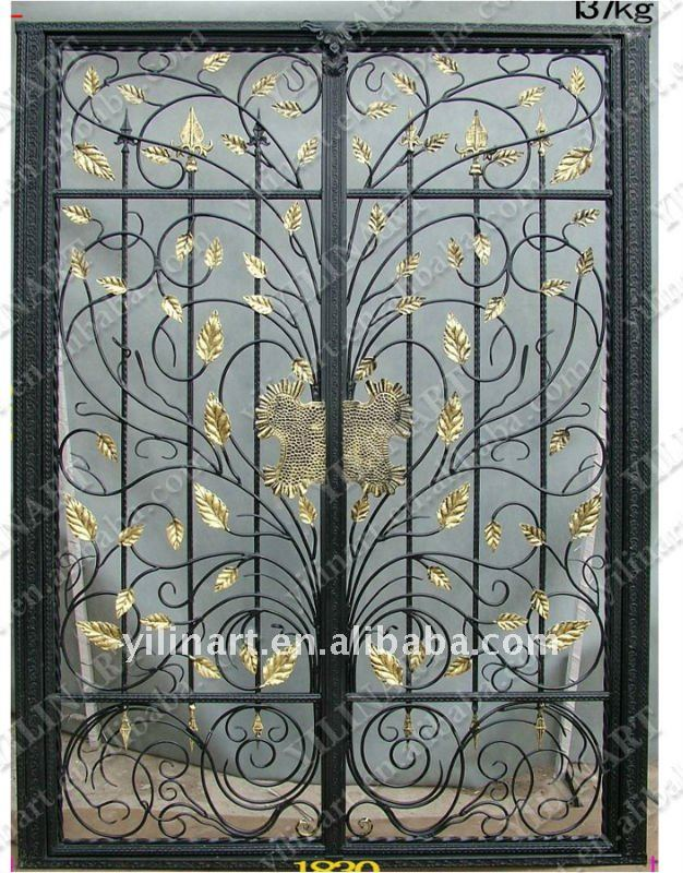 double door iron gates double door iron gates suppliers and at alibabacom