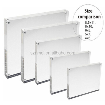 Picture Frames Block 3x5 Holder Stand