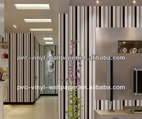 natural material wallpaper/flocking wallpaper/fabric wall covering metallic wallpaper