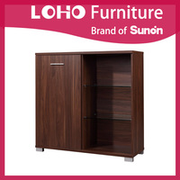Quality Wooden Living Room Furniture Wine Cabinet/Storage Cabinet from LOHO Furniture