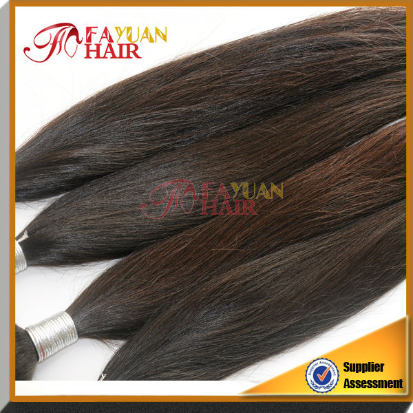 2014 6a raw virgin silk straight Indian queen weave beauty hair extension