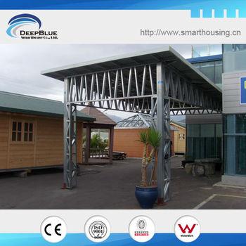 Gable steel car shed design buy steel car shed design for Car shed design