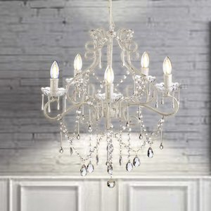 Indoor Glass Wedding Centerpieces Luxury Marie Therese Drop Crystal Chandelier Lights NS-120247