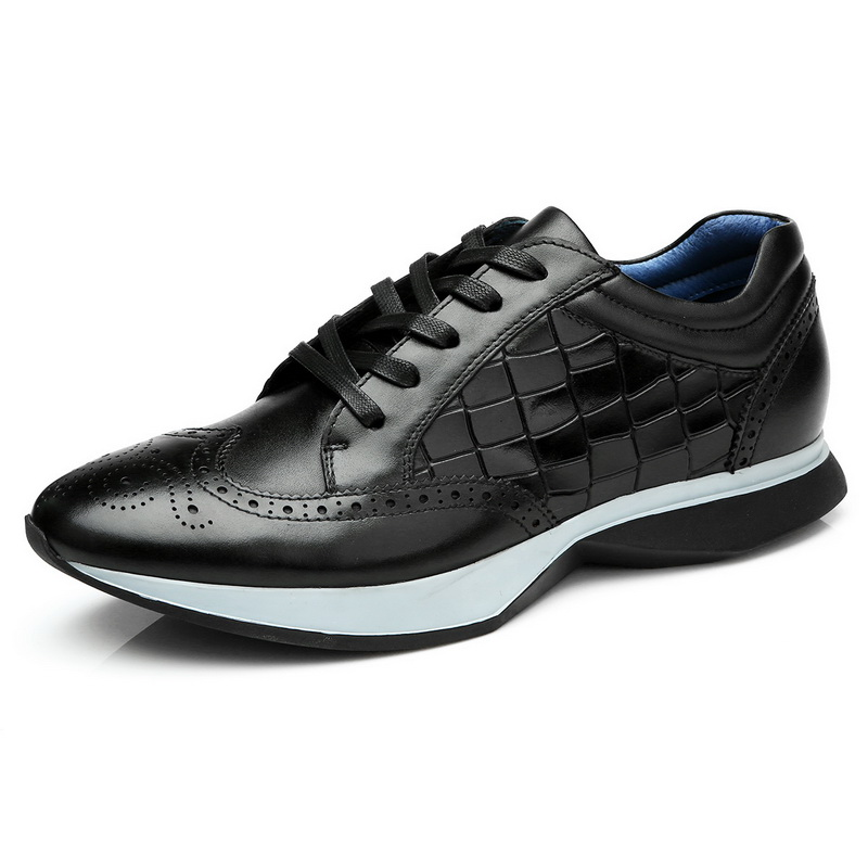 New Shoe 2017 Men Autumn Comfort Flat Casual Leather dfTBfAx