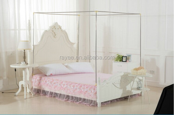 Mosquito Nets Bed With Stands,WHOPE Approved Single Bed Mosquito Net 90 (w)