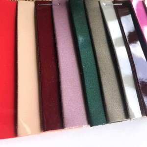 Mirrored Surface Shoe Peeling Fabric Pu Suede Leather Material