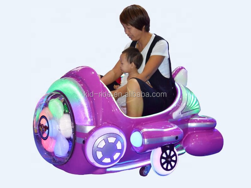 Kids Indoor Playground Battery Fiberglass Toys Car Amusement Rides for Kids