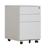 Foshan Colorful Office Equipment for A4 File Cabinet 3 Drawer Mobile Pedestal