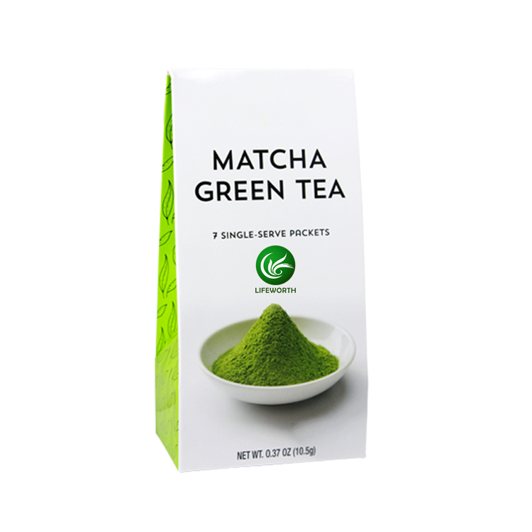 Lifeworth green matcha tea powder with slimming herbs - 4uTea   4uTea.com