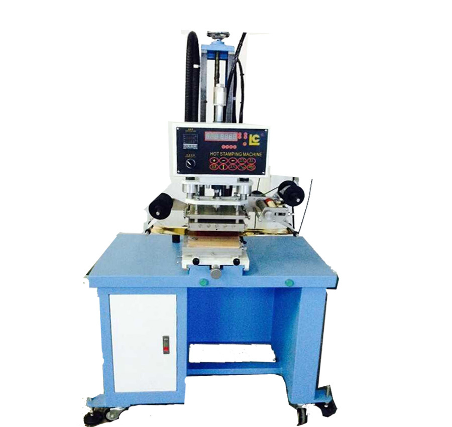 Leather Embossing Machine Hot Stamping Machine For Plastic
