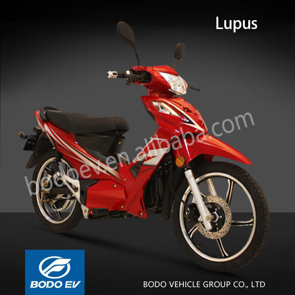 Lupus EEC approved electric motocycle 72V3000W electric wheel scooter
