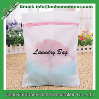 Custom Logo Printed Delicates Laundry Bags / Premium Quality Lingerie Wash Bags for Laundry