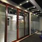 Waterproof Decorative Glass Sliding Partition Wall