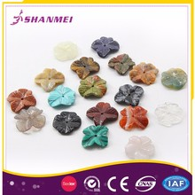 Strict Time Control Manufacturer Nature Stone Carved Pendants And Charms