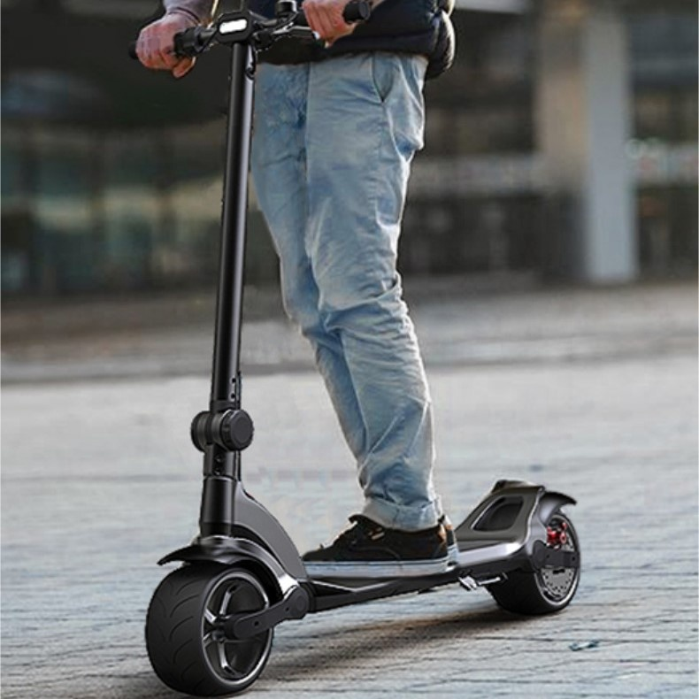 Wide Wheel 8 inch Fat Tire Electric Kick Scooters for Adults