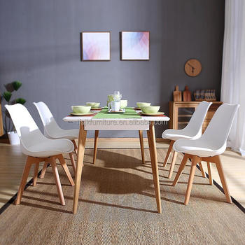 Office Cabin Interior Design, Set Of 4 Dining Chair Retro Dining Room Set Table Chairs Home Office Wooden Legs Buy Dining Table Chairs Retro Dining Chair Wooden Dining Chair Product On Alibaba Com
