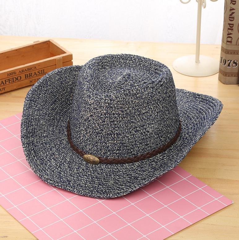 5ac87e8775 China sombrero de paja y Occidental vaquero sombreros de paja Cap ventas al  por mayor