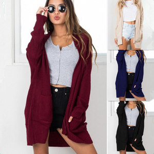 Women's Knit Top Cardigan Sweater Coat Women