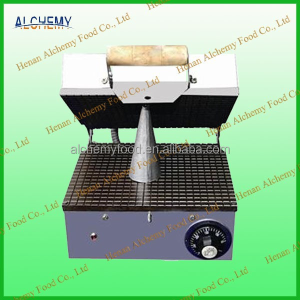 low cost 1 head ice cream cone baking machine for home use