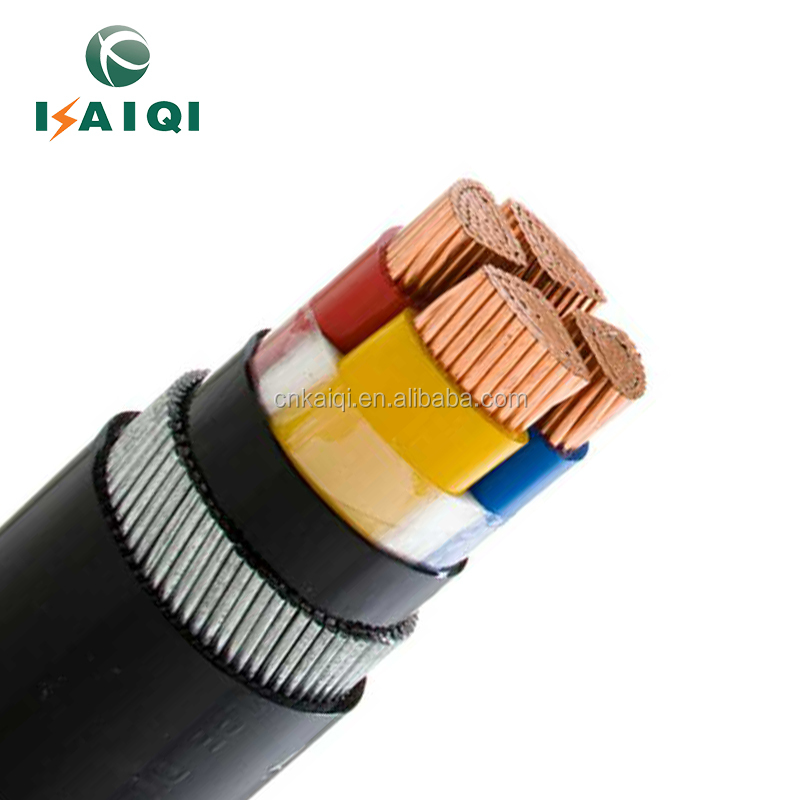 IEC 60502 CU/AL conductor XLPE insulated PVC power Cable