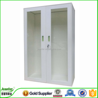 China top quality Wall Mounted Office Half Height Glass Door File Cabinet/steel Filing Cabinet