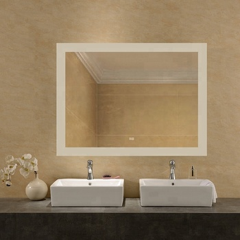 Lighted Touch Screen Bathroom LED Behind Mirror TV