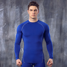 Hot Sales Top Quality Quick Drying Tight Men Training Activewear Sport Wear Long Sleeve Shirts