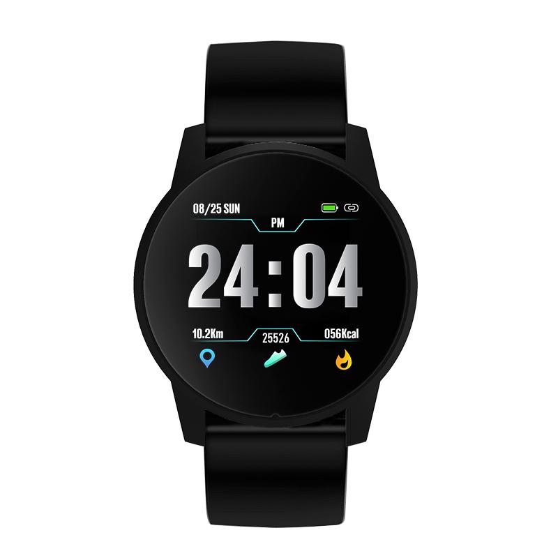 2019 Wholesale Round Screen Sedentary Alert Sleep Monitor Reloj Inteligente Smart Watch B2 2018 фото