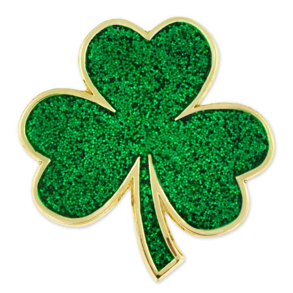 3f550a47c396 Get Quotations · PinMart's Green Shamrock St. Patrick's Day Clover Magnetic  Lapel Pin Jewelry