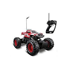 Rc Cars-Monster Trucks-Remote Control 4WD Tri-Band Off-Road Rock Crawler RTR Monster Truck- Cars Toys--Full function remote control moves forward, backward, turns left and right Tri Band function allows to race three trucks at the same time Equipped with two (2) motors -Ready to cruise