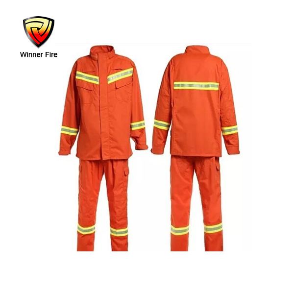 High grade aramid firefighter protective nomex fireman fire suit