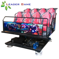 Theater Project Video Simulator 5D 7D Cinema Game Machine Virtual Reality 5d Cinema 8 Seats