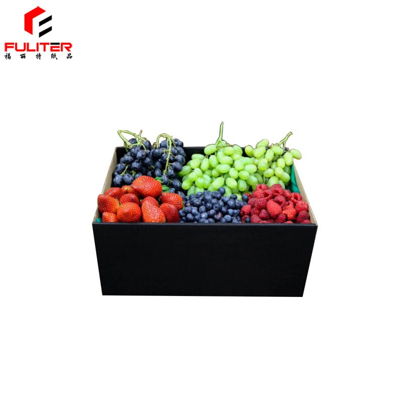 2 kg Reciclar Populares Selos De Frutas de Papelão Caixa De Embalagem das Frutas com Personalizado Claro