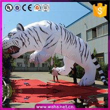Latest Advertising Products Decorations Lighted Inflatable Manchurian Tiger