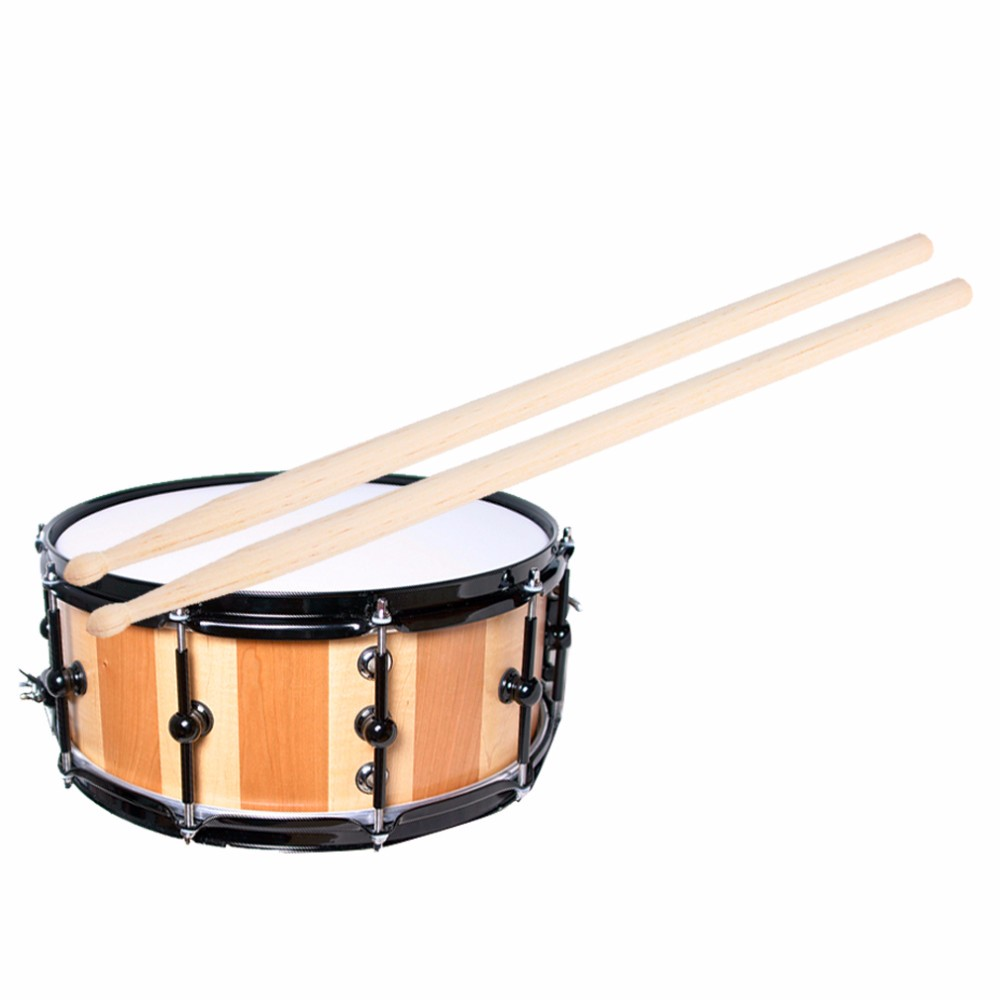 1 paar 5A Maple Wood Drumsticks Stick voor Drum Drums Set Lichtgewicht Professionele I344 Top Kwaliteit
