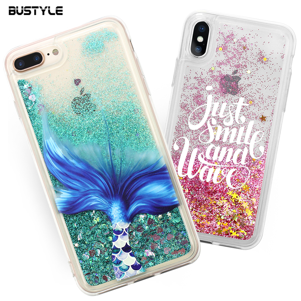 online store a618f 8dac5 Custom Mobile Back Cover For Iphone 7s Plus 3d Flowing Glitter Quicksand  Liquid Tpu Phone Case For Iphone 8 Case - Buy Mobile Back Cover,Mobile  Phone ...