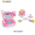 supermarket wholesale shopping battery operated kids toy cash register set with sound and light