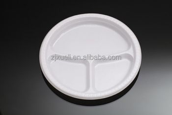 10inch plastic plate with ider disposable /low price 3-compartment disposable plastic plate ider & 10inch Plastic Plate With Divider Disposable /low Price 3 ...