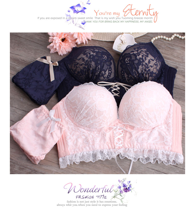 b52f634db30 Detail Feedback Questions about Japanese sexy lace bra set no rims ...