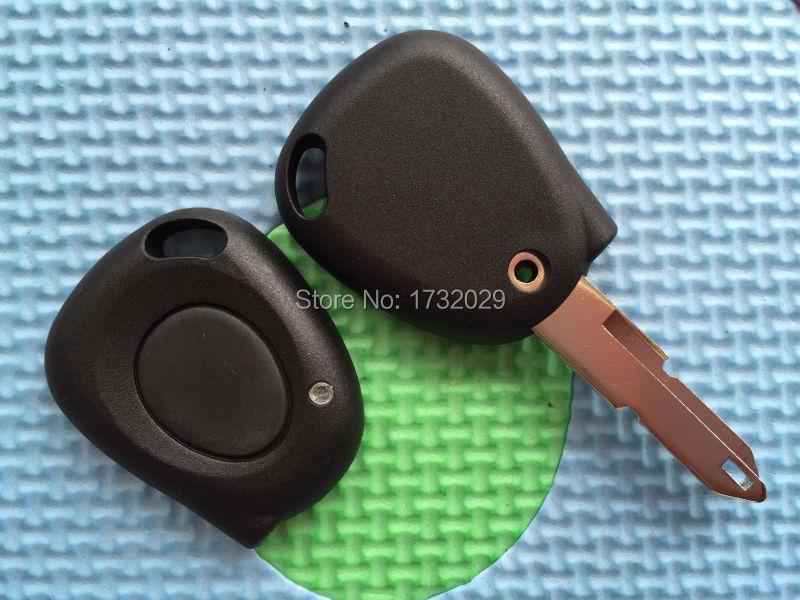 Для рено меган сценик дистанционный ключ ик 1 кнопки дистанционного ключа оболочки чехол + пустым лезвие