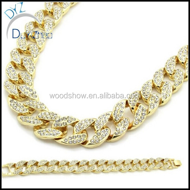 chains mens gold chain yellow mm link cuban miami inches