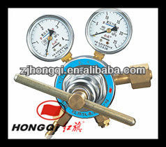 Industrial oxygen flow regulator for welding