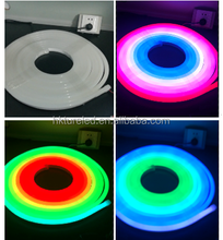 Waterproof Holiday Decoration Dimmable DMX RGB Flex strip LED Neon Rope Light